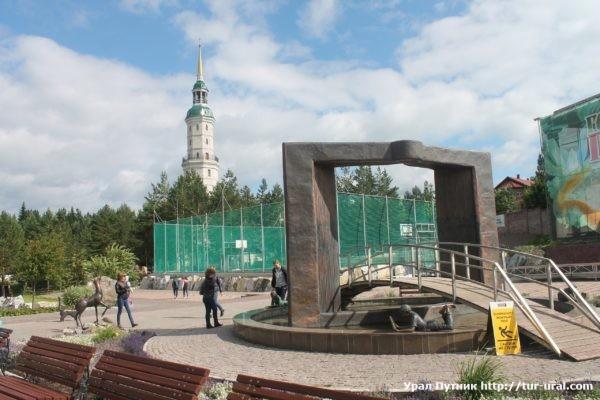 Чёрная скала НП Таганай и Горный парк им. Бажова