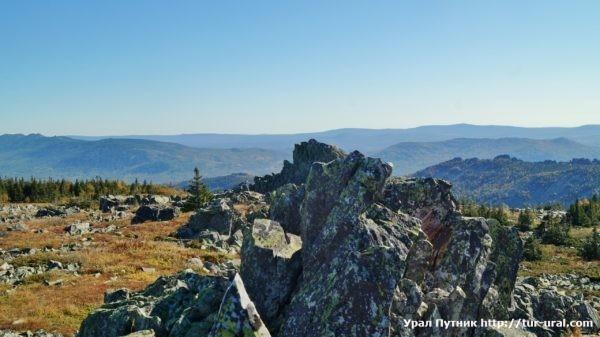 Поход на хребет Бакты и хребет Зигальга