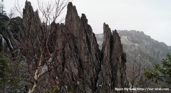 Таганай Двуглавая сопка и Большая Каменная река