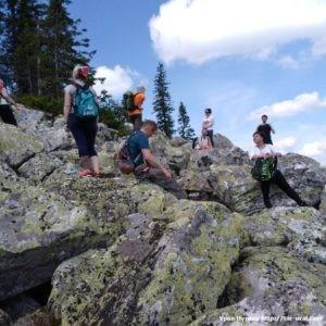 Восхождение на хребет Б. СукА НП Зюраткуль