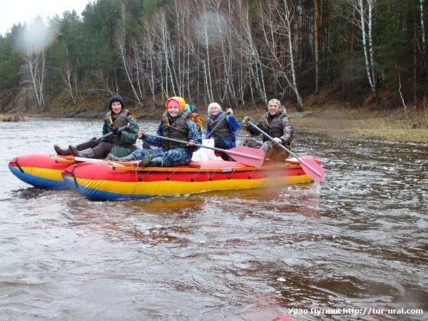Открытие сезона: Сплав по реке Багаряк